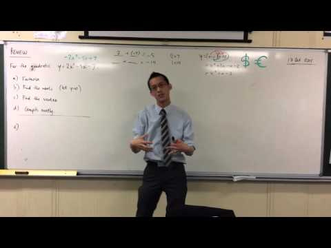 Factorising & Finding Roots of a Quadratic Function