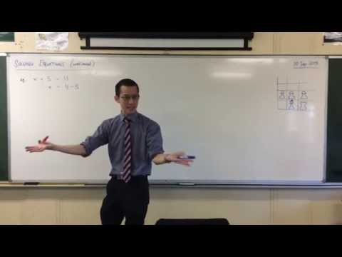 Solving Simple Linear Equations (1-Step & 2-Step)